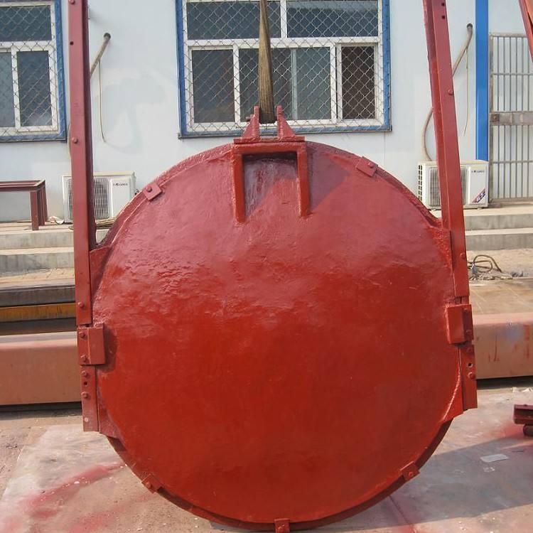 铸铁镶铜圆水利闸门