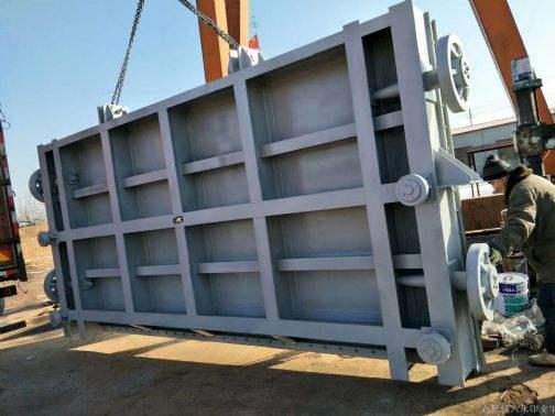钢制翻板闸门