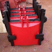 放水阀门中的铸铁闸门的作用是什么?